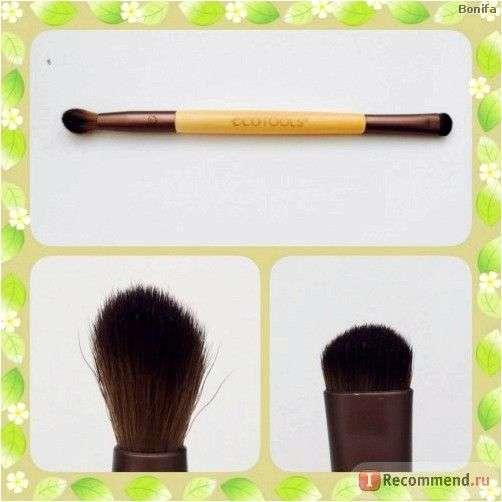 Кисть для макияжа Ecotools Eye Enhancing Duo Set, 4 Brush Heads