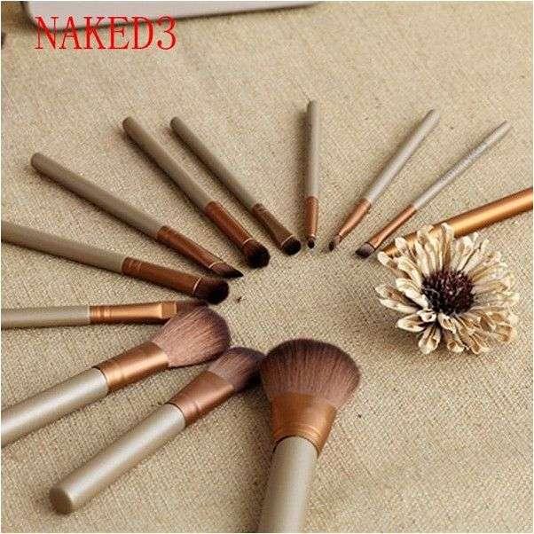 Кисть кабуки Aliexpress Professional Makeup Brush Flat Top Brush Foundation Powder beauty Brush Cosmetic Make up brushesTool Wooden Kabuki Make-up Brush