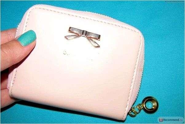 Кошелек Aliexpress Details about new hot fashion mini PU leather women lady purse wallet card holders handbag