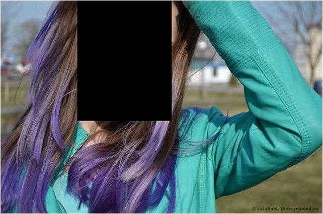 Краска для волос без аммиака Anthocyanin