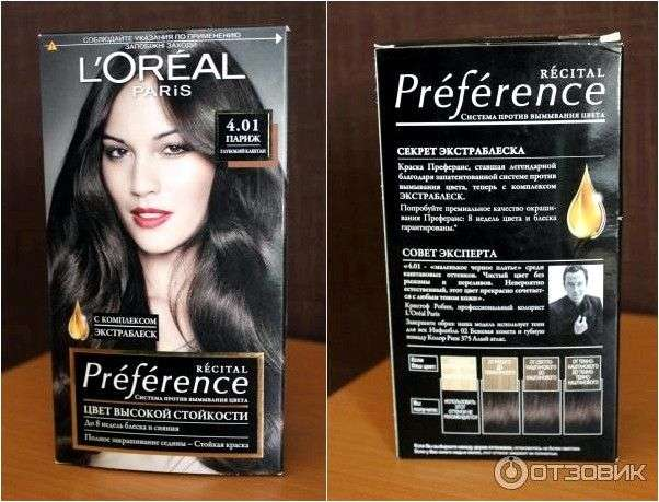 Краска для волос L'OREAL RECITAL PREFERENCE