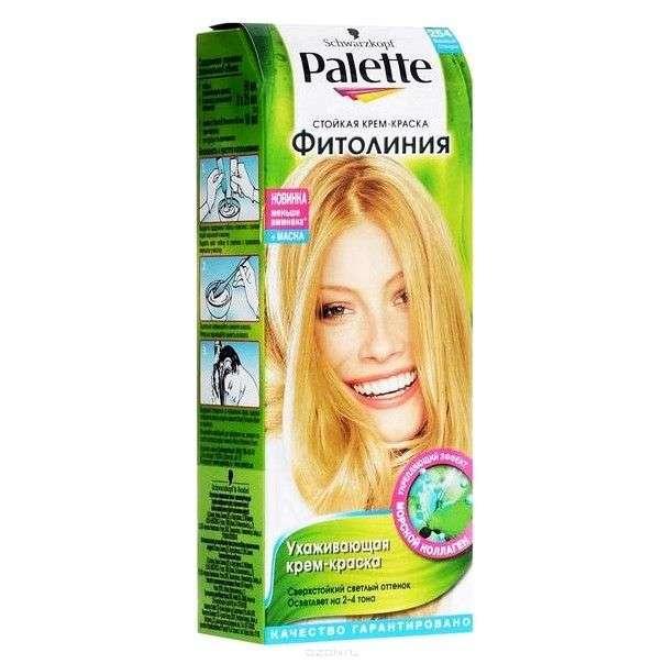 Краска для волос Palette Фитолиния Стойкая ухаживающая крем-краска