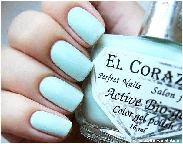Лак для ногтей EL CORAZON Jelly Active Bio-gel