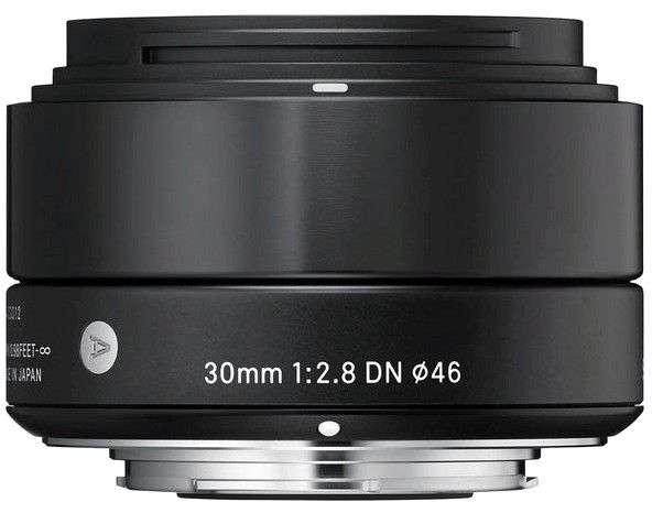 Объективы Sigma AF 30mm f/2.8 EX DN для Sony E (NEX в том числе)