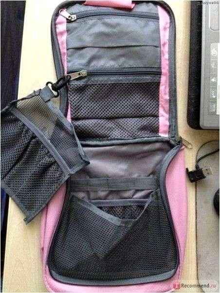 Органайзер Aliexpress fashion multifunctional microfiber make up bags cosmetic case,washing bag items CC1