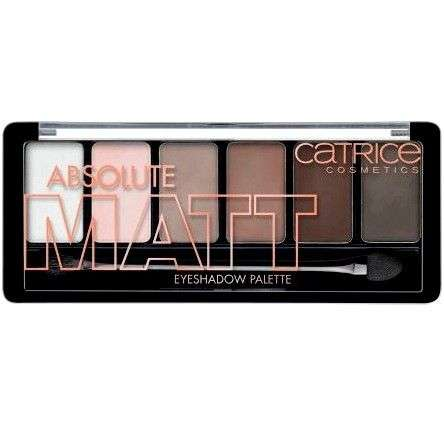 Палетка теней Catrice Absolute Matt