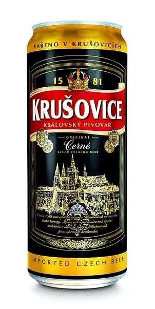 Пиво Krusovice Черное