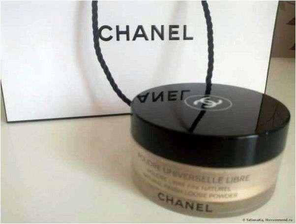 Пудра-вуаль Chanel Poudre Universelle Libre