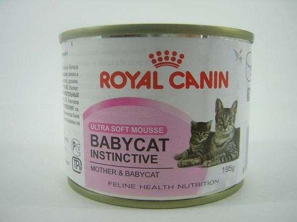 royal canin babycat instinctive ultra soft mousse mother babycat. Black Bedroom Furniture Sets. Home Design Ideas