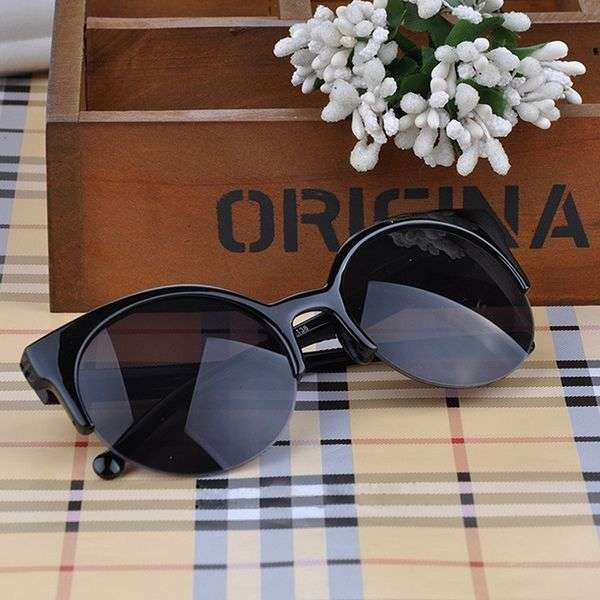 Солнцезащитные очки Aliexpress Retro style Round Circle Cat Eye sunglasses