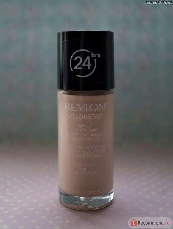 Тональный крем Revlon 24 Hr. Colorstay Liquid Makeup Combination/Oily