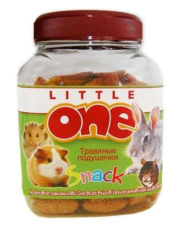 Травяные подушечки Little One Herbal Crunchies Snack