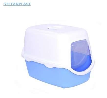 Туалет-домик для кошек Stefanplast Cathy Easy Clean с угольным фильтром
