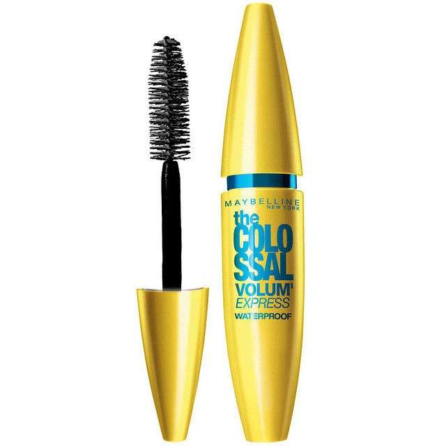 Тушь для ресниц MAYBELLINE The colossal volum express 100% black