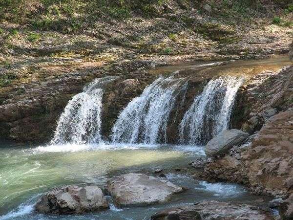 Водопады Руфабго (Адыгея)