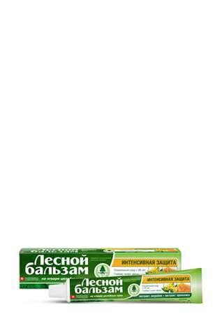 Зубная паста Unilever Лесной бальзам на отваре целебных трав. При воспалении десен.
