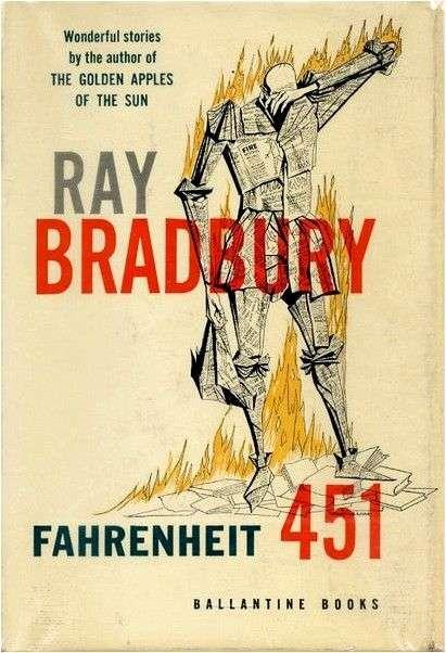 451 градус по Фаренгейту. Рэй Брэдбери