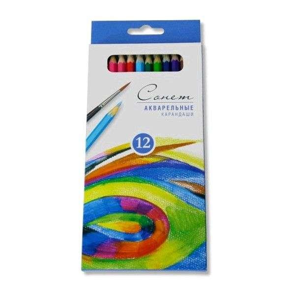 """Акварельные карандаши """"Сонет"""""""