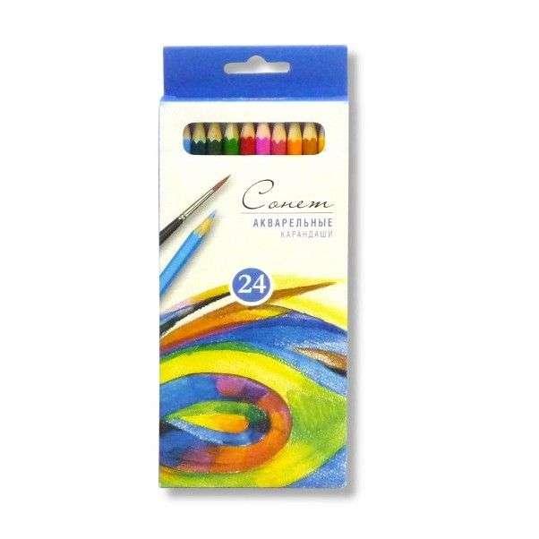 Акварельные карандаши 'Сонет'