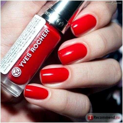 Гель-лак для ногтей Ив Роше / Yves Rocher Couleurs Nature