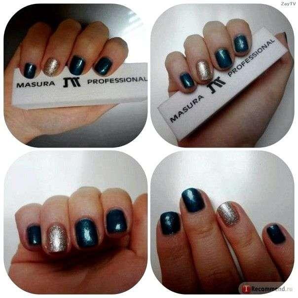 Гель-лак для ногтей MASURA Трехфазные коллекция осень/зима 2014