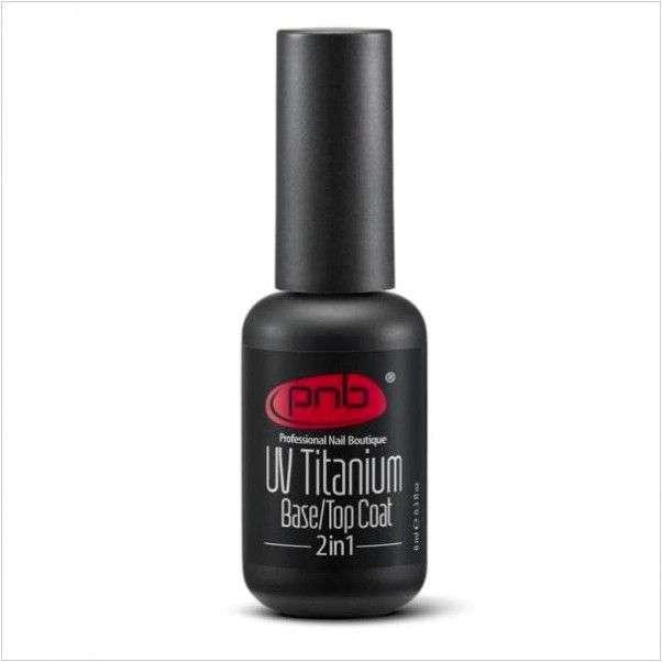 Гель-лак для ногтей Professional Nail Boutique (PNB) UV Titanium Base\Top Coat 2 in 1