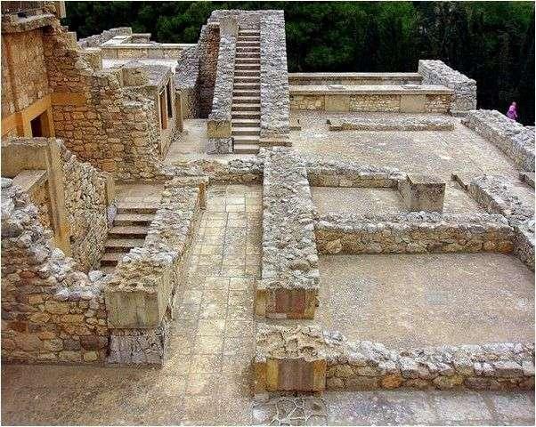 Греция Крит Кносский дворец
