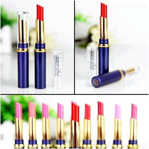Губная помада HengFang AliExpress 11 Colors Waterproof Elegant Lipstick Lip Stick Long lasting Lip Gloss Smacker Cosmetic Balm for Lips to Mouth