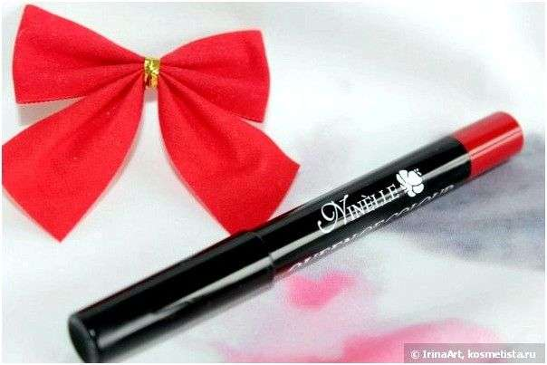 Губная помада Ninelle Queen Of Colour Twist-up glossy lipstick