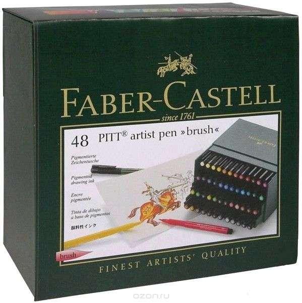 Капиллярные ручки PITT® ARTIST PEN, Faber Castell