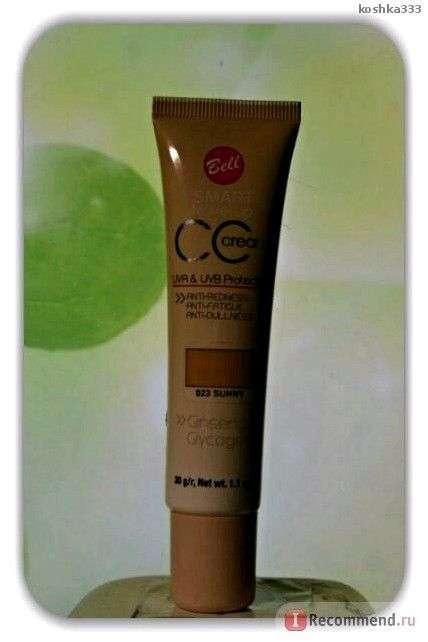 Комплексный флюид Bell CC Cream Smart Make-Up