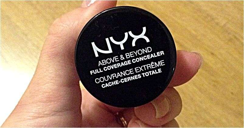 Консилер Nyx Above & Beyond full coverage cache-cernes totale