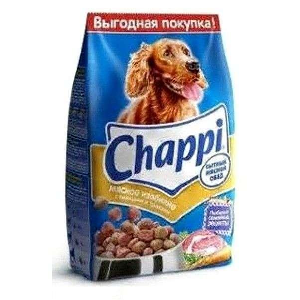 Корм для собак Chappi Чаппи (Chappi): МЯСНОЕ ИЗОБИЛИЕ с овощами и травами