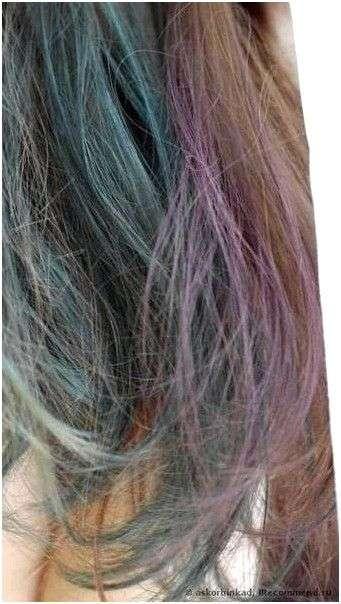 Краска для волос без аммиака Crazy color