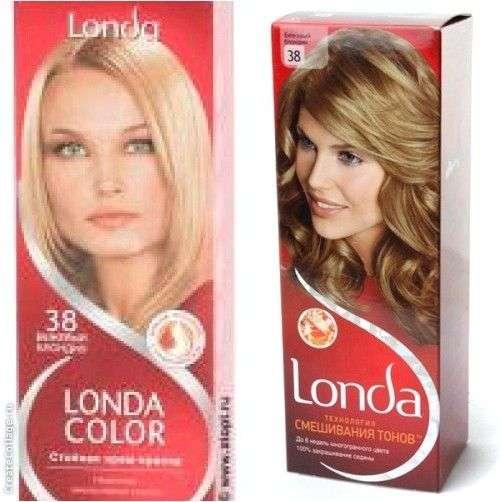 Краска для волос Londa Технология смешивания тонов