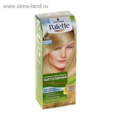 Краска для волос Palette Фитолиния Защита и Питание