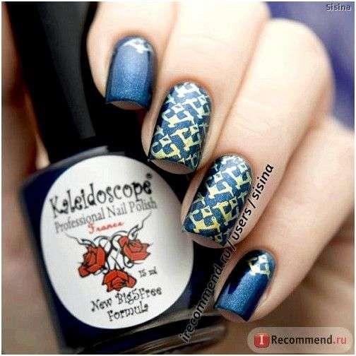 """Лак для ногтей EL CORAZON Kaleidoscope """"Ночные Грезы"""" знаки Зодиака"""