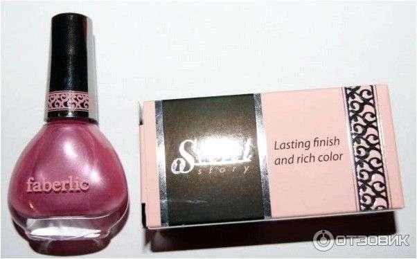 Лак для ногтей Faberlic Secret Story 'Секрет стиля'