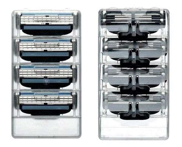 Лезвия для станка Aliexpress Quality Razor Blades for Men M3-TURBO-8 US&RU&Euro