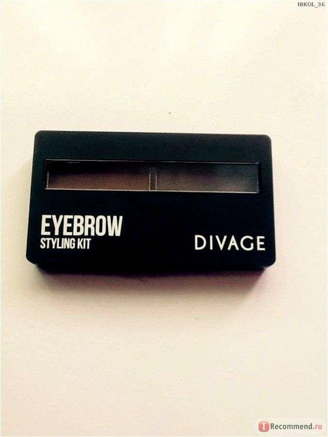 Набор для моделирования формы бровей DIVAGE 'Eyebrow Styling Kit'