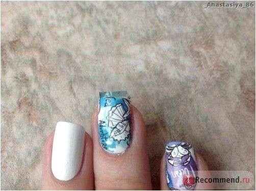 Наклейки для ногтей Готовая художественная роспись Амели