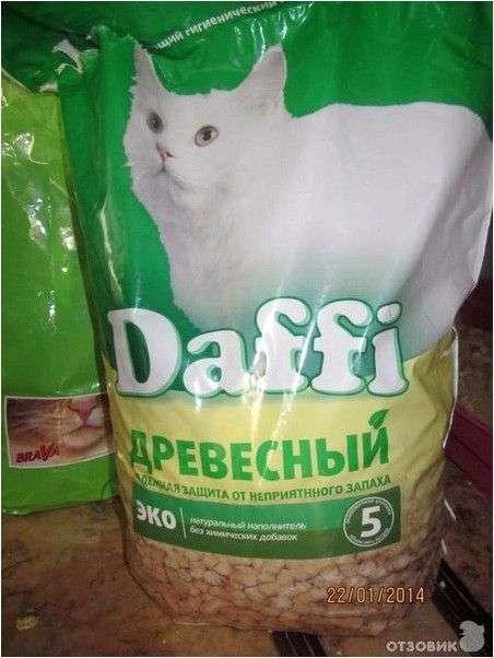Наполнитель для кошачьего туалета Daffi минеральный универсальный