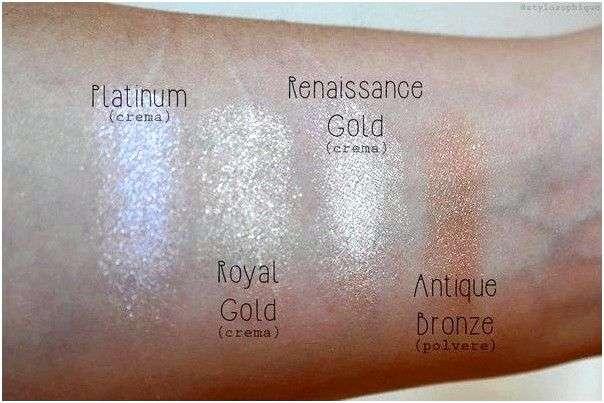 Палетка макияжа Sleek хайлайтеров Precious metals highlighting palette