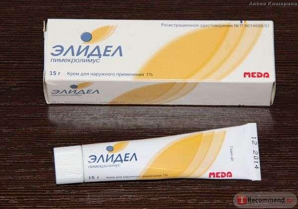 Противовоспалительное средство Novartis крем Элидел (Elidel)