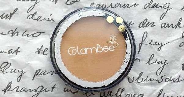 Пудра GlamBee компактная
