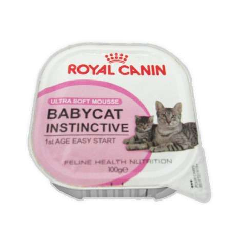 Royal Canin Babycat instinctive ultra soft mousse (mother & babycat)