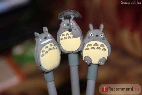 Ручки гелевые 4X My Neighbor Totoro Kawaii Gel Pen School Supplies Stationery Writing Student Gift Kids Rewarding