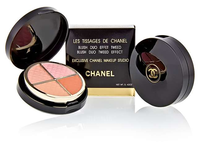 Румяна Chanel Blush Duo Tweed Effect