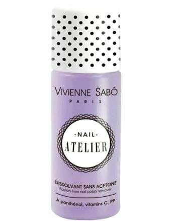 Салфетки для снятия лака с ногтей Vivienne sabo Nail Atelier