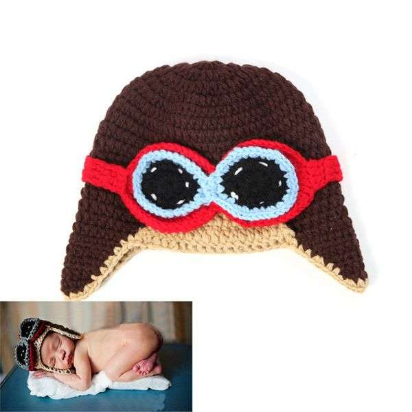 Шапочка Aliexpress 1pc/ lot New Baby Hat Baby Knitting Beanies Child Sleep Hat Toddler Cap Kids Newborn Clothing Accessories Hat HO859489